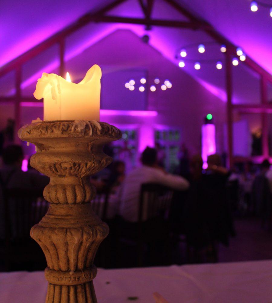 Wunderschöne dekorierte Hochzeit in Bechen!