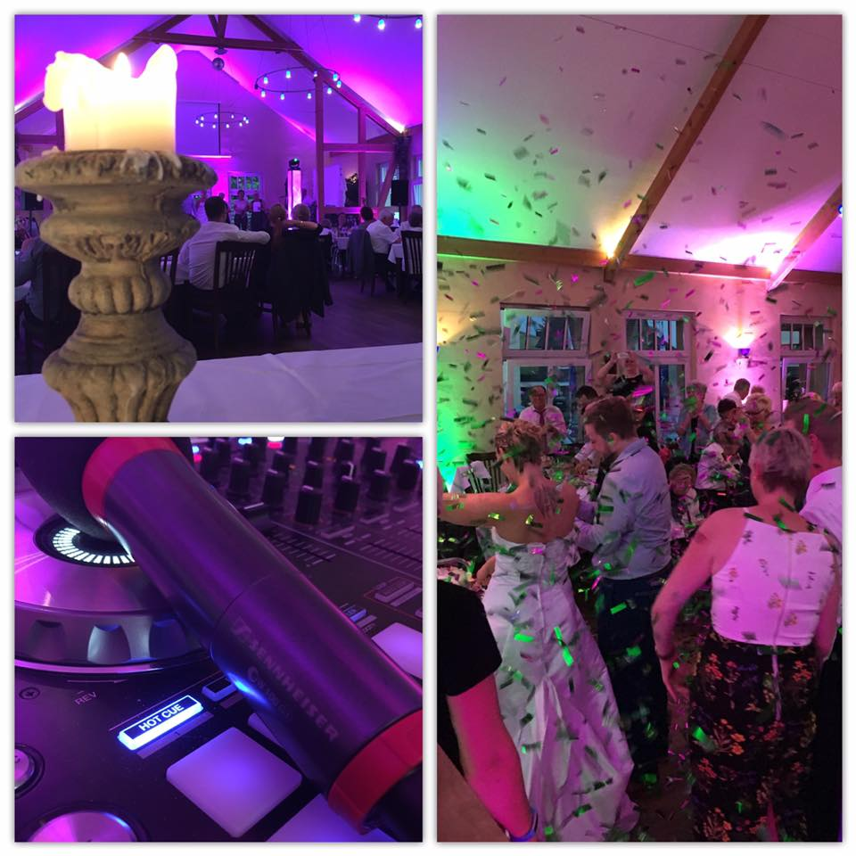 Hochzeit in Bechen mit viel Konfetti von Magic Fx