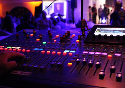 Klasse Sound mit unserem Behringer X32